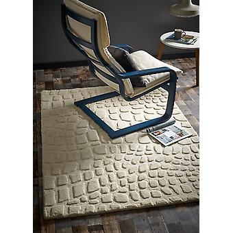 Knikkers ivoor rechthoek tapijten Plain/bijna gewoon tapijten