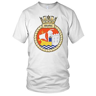 Royal Navy HMS Bristol Ladies T Shirt