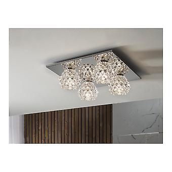 Schuller Hestia Ii Ceiling Lamp, 4L.