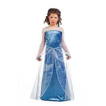 Winter Princess girls costume ice Queen child costume