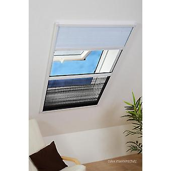 Sunscreen insect repellent combination roof window sheet 110 x 160 cm in white