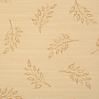 Harlequin Beige&Gold Wallpaper Roll - Pattern Floral Motif Design - 35670
