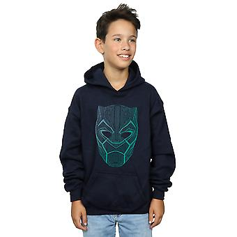 Wonder Boys Black Panther masker Hoodie