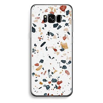 S8 de Samsung Galaxy Plus caja transparente (suave) - terrazo N º 4