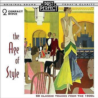 Alder af stil: 50 klassiske spor fra 1930s [Audio CD] Past Perfect