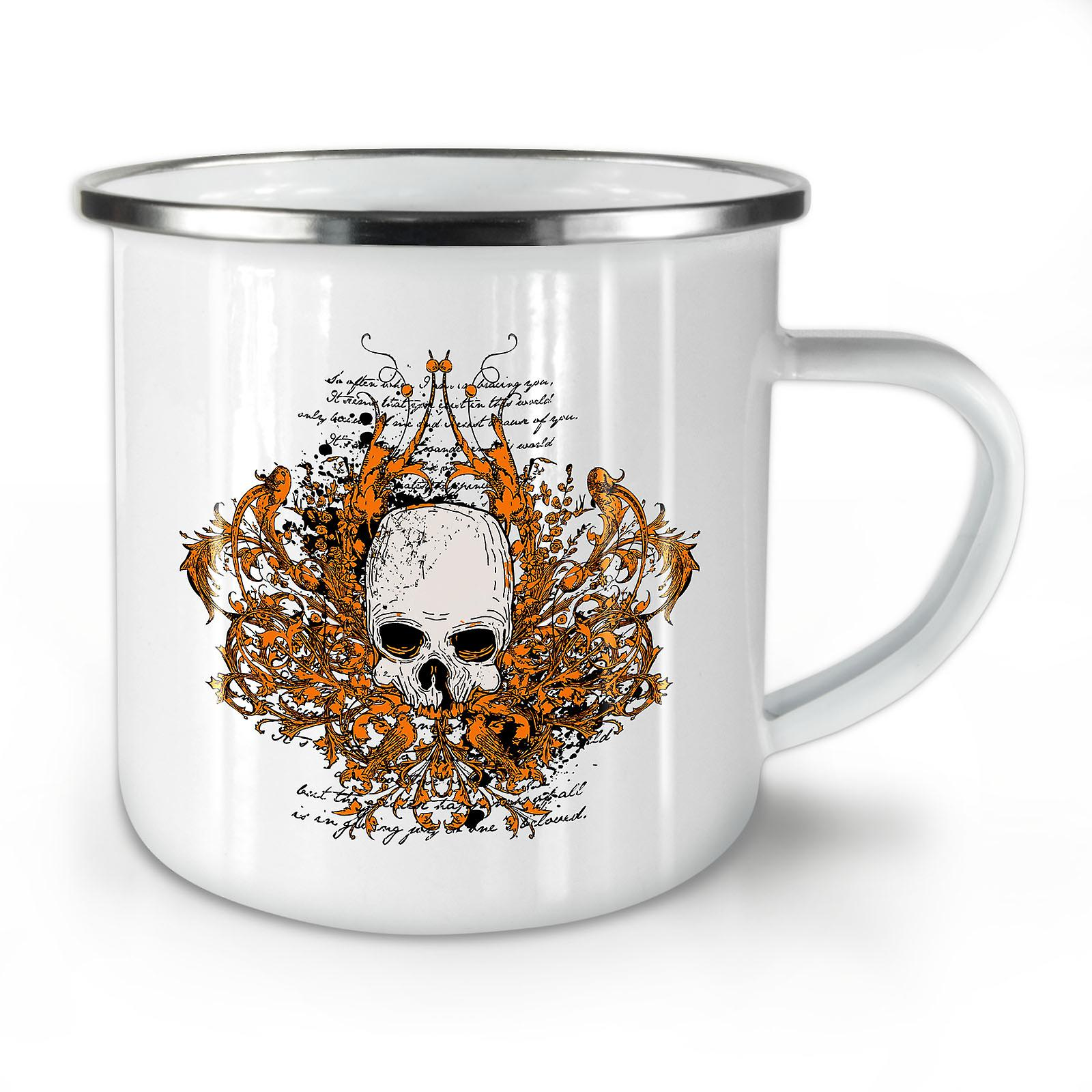 Death Guy New Metal Coffee Enamel OzWellcoda Whitetea Mug10 Bad shBQrCtxd