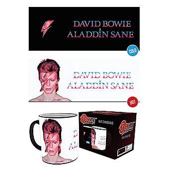 David Bowie Ziggy Stardust chaleur changement Mug
