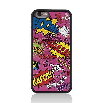 Call Candy Apple iPhone 7 Comic Capers 2D Printed Case-Pink