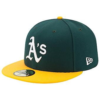 New Era 59Fifty Cap - AUTHENTIC Oakland Athletics