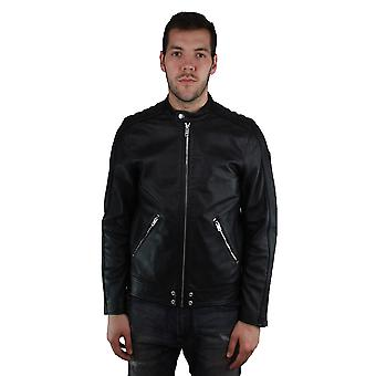 Diesel L-Quad 900 Leather Jacket