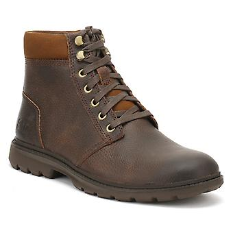 Caterpillar Mens Baked Brown Nyles Boots