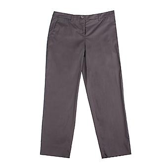 Miu Miu Women's Cotton Trouser Pants Black