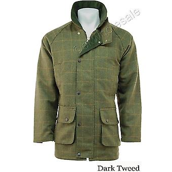 Derby Tweed Shooting Jacket for Men - Sizes XXS - 3XL