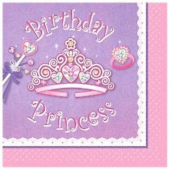 Verjaardag Prinses partij uitnodigingen