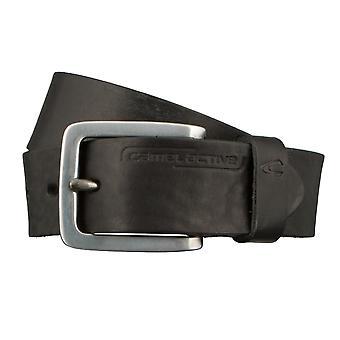 Cinturones de camel active correa cuero cinturones hombre pueden acortarse 2823 negro