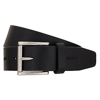 Strellson belts men's belts leather belt blue 2300