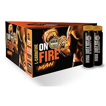 Gold Nutrition L-Carnitine Onfire Man 15 units (Sport , Muscle definition , L-Carnitine)