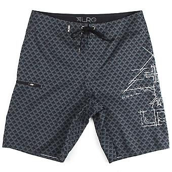LRG Icon Board shorts Charcoal Black