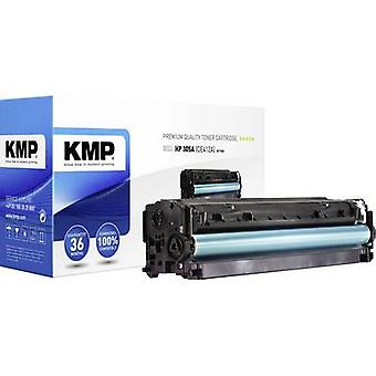 KMP Toner cartridge replaced HP 305A, CE412A Yellow 3400 pages H-T160