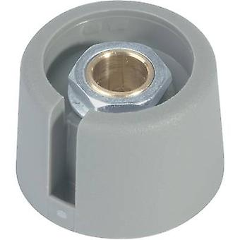 OKW A3020068 Control knob Grey (Ø x H) 20 mm x 16 mm 1 pc(s)