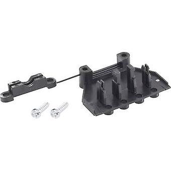 Strain relief Adels-Contact 192205 V9 192205 V9 Black 1 pc(s)