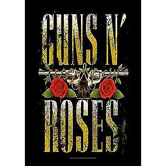 Guns N Roses Logo Large Fabric Poster / Flag 1100Mm X 750Mm