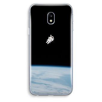 Samsung Galaxy J3 (2017) Transparent Case (Soft) - Alone in Space