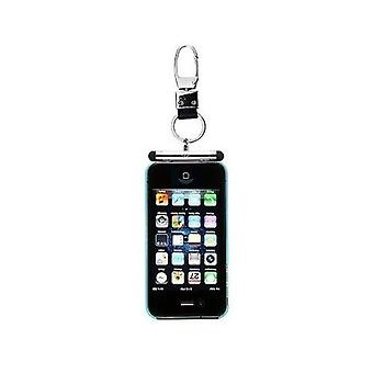 iHangy Keychain with TouchPen Stylus for iPhone 4 4S 3GS 3G & iPod - Silver