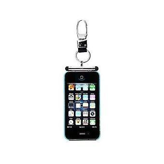 iHangy Schlüsselanhänger mit TouchPen Stylus für iPhone 4 4 s 3GS 3G & iPod - Silber