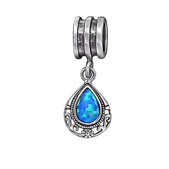Tear Drop - 925 Sterling Silber jeweled Perlen - W29564X