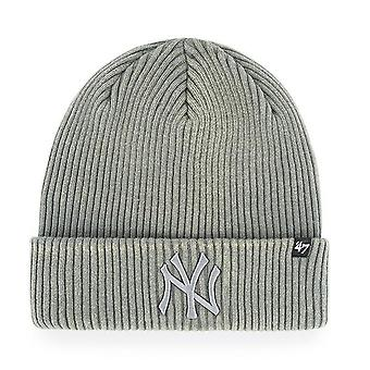 47 fire Knit Beanie - Northwood New York Yankees grey