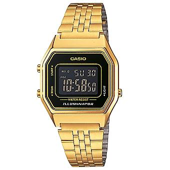 Casio LA680WEGA-1BER Gold Unisex Bracelet Digital Alarm Watches LA680WEGA/1B