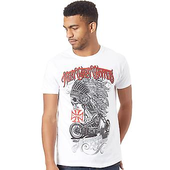 West Coast Choppers Solid White Chief T-Shirt