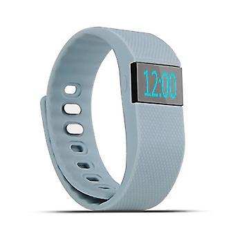 Zeug Certified® Original TW64 Smartband Sport Smartwatch Smartphone Watch OLED-iOS Android grau