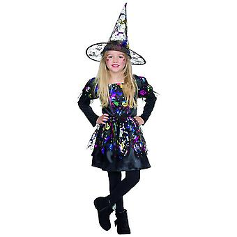 Witch Lucy Halloween costume Kids Carnival witch dress