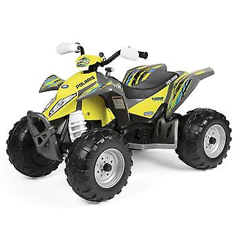 Peg Perego Polaris Outlaw 12V Quad-Bike Citrus