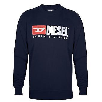 Diesel Diesel Navy Logo Sweatshirt
