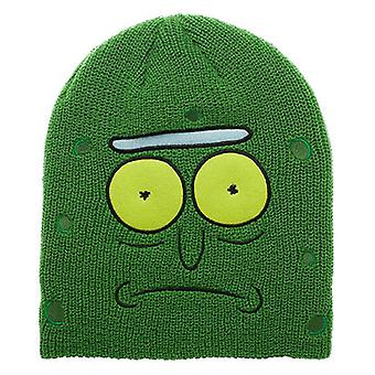 c1325972370 Rick and Morty Pickle Rick Beanie Winter Hat