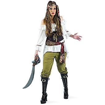 Raider pirate ladies costume Seeräuberein pirate ladies costume