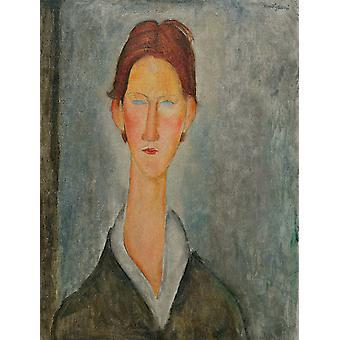 Ritratto di un allievo, Amedeo Modigliani, 61 x 46,2 cm