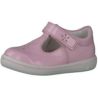 Ricosta Pepino Girls Winona T-bar Shoes Blush Pink Patent