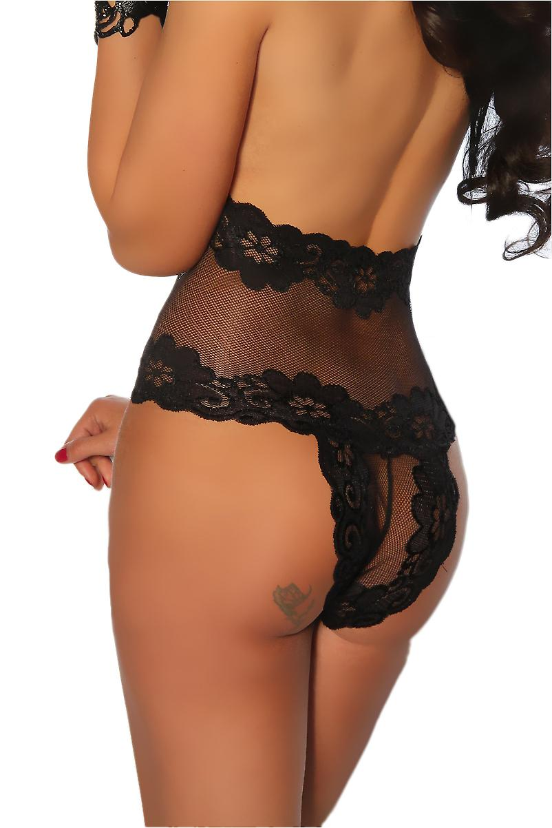 Waooh 69 - Body Transparent Lace Faustina