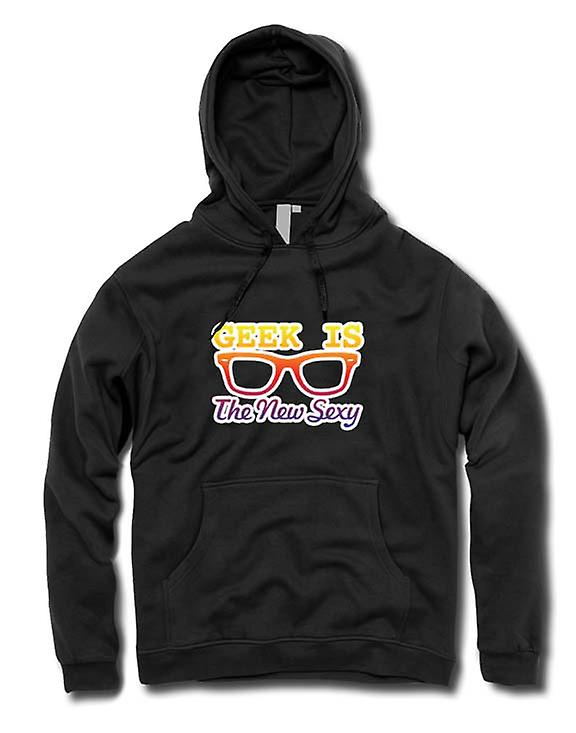 Mens Hoodie - Geek is the new Sexy Wayfarer