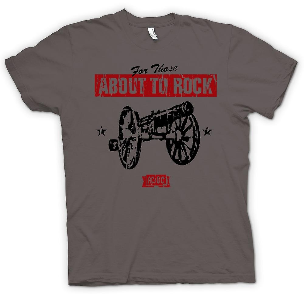 Herren T-Shirt - AC / DC - For Those About To Rock