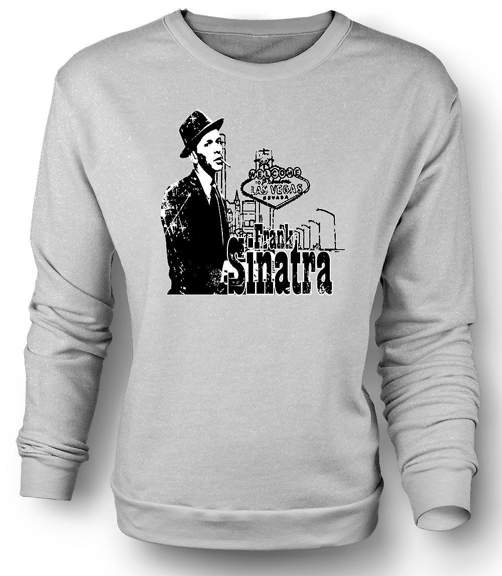Mens Sweatshirt Frank Sinatra Vegas - Swing - Icon