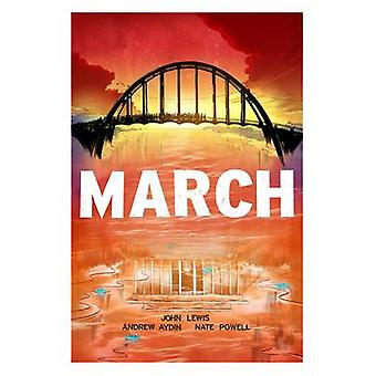 March (Trilogy) - Trilogy Slipcase Set by Nate Powell - Andrew Aydin -