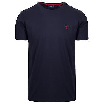Gant GANT Navy Classic Crew Neck T-Shirt