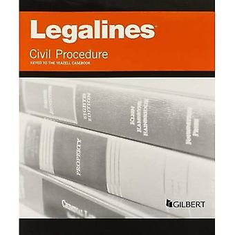 Legalines on Civil Procedure, Keyed to Yeazell