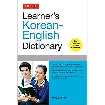 Coreano Diccionario Tuttle alumno