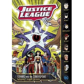 Starro och Cyberspore (DC Super Heroes: Justice League)
